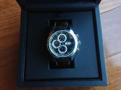 Hamilton Menand039s Andnbsph3281653 Jazzmaster 46mm Blk Dial Leather Outstanding Timepieceandnbsp
