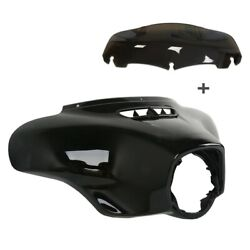 Outer Batwing Fairing With Screen For Harley Davidson Touring Models 2014-2020