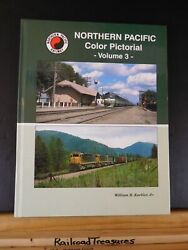 Northern Pacific Color Pictorial Vol 3 By William R Kuebler Jr Hard Cover
