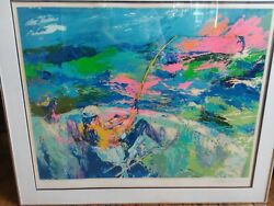 Original Serigraph Leroy Neiman Marlin 1981 Numbered And Signed Fishing