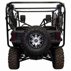 Tusk Hitch Mounted Spare Tire Carrier - Fits Honda Pioneer 1000-5 2016-2021