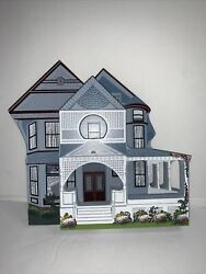 1993 Shelia's Collectibles House Sessions House Los Angeles Ca Wood Cats Meow