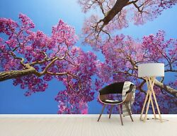 3d Cherry Tree Kep595 Wallpaper Mural Self-adhesive Removable Sticker Bea