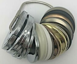 Moen Escutcheon Store Display Various Finishes Round Cover Plates