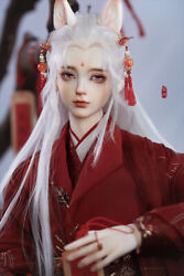 Loongsoul 1/3 Bjd Doll Fox All Set No Make Up 24.8 Wig Clothes Shoes In Stock