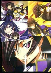 Code Geass Lelouch Of The Rebellion Poster Pinup Anime Character Goods Item