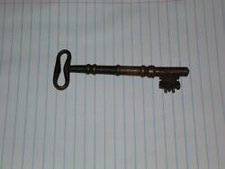 Extremely Rare Antique Brass Key 1800s Museum Piece. Found In A Ghost Town.