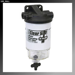 Moeller Marine New 33314-10 Outboard Water Separating Fuel Filter System Kit