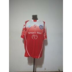 Argentinos Juniors Soccer Jersey Lotto 2004/2005 Size L Match Worn
