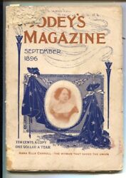 Godey's Magazine 9/1896-the Wraith Of Wrosely By Kenneth Lee-rare Early Pul...