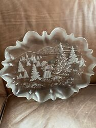 Mikasa Holiday Plate From Germany 17 X 12