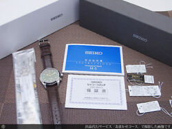 Authentic Seiko Mechanical Alpinist Sarb017 6r15-00e1 Green Dial Automatic