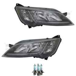 Headlight Set Right And Left Black H7/h7 For Fiat Ducato Incl. Lamps