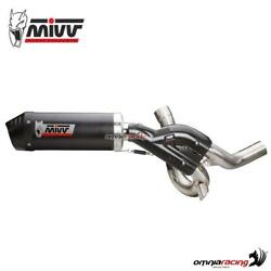 Mivv Oval Exhaust Racing Carbon For Ducati Multistrada 1200 15/ 1260 2018