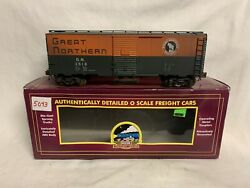 ✅pro Weathered Mth Premier Great Northern 40' Aar Box Car O Scale Train Ps-1