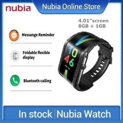 Nubia Watch Mobile Smartphone Watch 4.01 Flexible Curved Screen Amoled Wrist Us