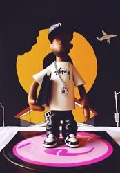 Pay Jay X Stussy J Dilla Figure + 7 Donuts Picture Disc Vinyl Set Very Rare