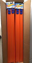 """Hot Wheels Track Case 24 Pcs - 24"""" Straight Track W/connectors - 96 Feet Total"""