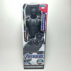 Marvel Black Panther Titan Hero Series 12 Inch Action Figure Hasbro Avengers