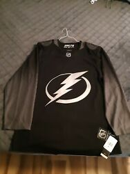 Tampa Bay Lightning Alternate 3rd Style Adidas Authentic Jersey Size 46