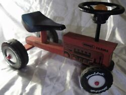 1960-70s Red Buddy L Farms Childand039s Ride-on Tractor