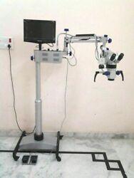 Ent Operating Microscope 5 Step Lcd, Camera, Motorized Best Microscope