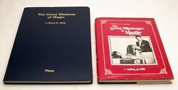 The Great Illusions Of Magic-wels-stage Illusion Blueprint Plans-guillotine-oop