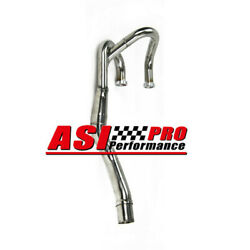 Bomb Stainless Exhaust Header Pipe Fit 1996-2001 Honda Xr600r Xr600 Xr650l Pro
