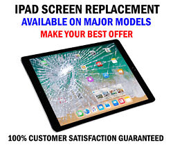 Ipad 2/3/4 Cracked Screen Replacement Service Glendale Heights Illinois Usa