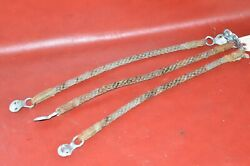 Vintage 1920's 1930's Plymouth Seat-back Rear Grab Rope Bar Pull Strap Handle