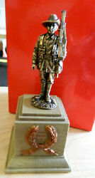 King And Country 3-in Wwi Australian Statue Toy Soldier Figure Sp093-sa In Box