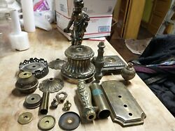 Lot Of Vintage Lamp And Light Parts