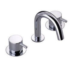 Vola Hv5 Faucet For Bathroom Sink, Three-hole Mixer Combination