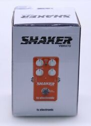 Tc Electronic Shaker Vibrato Guitar Effects Pedal - Brand New In Box
