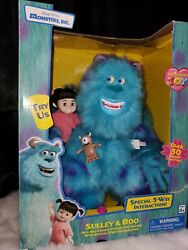 Vintage Disney Pixar Monsters Inc. Sulley And Boo Thinking Toys Interactive Toy