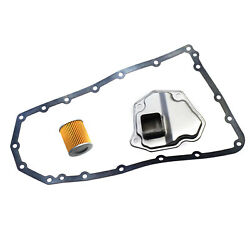 Transmission Filter Oil Cooler Pan Gasket For Altima Murano Rogue Jf011e Re0f10a