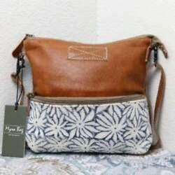NEW Myra Bag Small Crossbody Bag 23quot; Drop Canvas Purse for Women and Girls $27.80