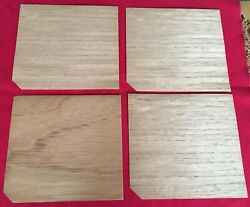 Vintage Cigar Box Wood Liners From Old Tampa Cigar Factory 4 6 X 7-1/4