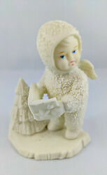 Snowbabies Angel Holding A Book With A Christmas Tree Department 56.