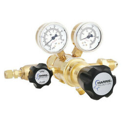 Harris Kh1136 Specialty Gas Lab Regulator, Two Stage, Cga-580, 0 To 50 Psi, Use