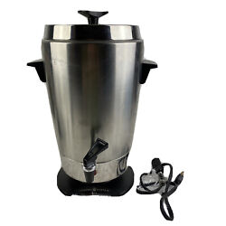 Vintage General Electric Commercial Style Electric Coffee Maker Perculator