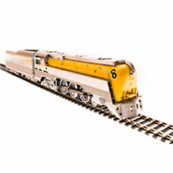 Broadway Limited Imports Ho L-1 4-6-4 W/dcc And Paragon 3 Cando/yellow 493