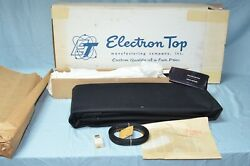 Nos 1955-56 Ford Mercury Electron Convertible Top And Curtain All Models