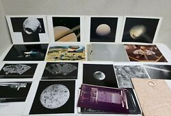 70and039s And 80and039s Huge Lot Of Nasa Memorabilia Vintage Photos Negatives Voyager Etc.