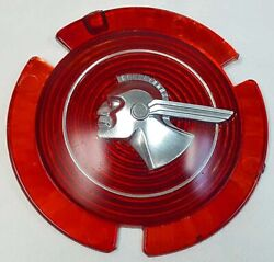 1951 Or 1953 Pontiac Chieftain Badge Grille Medallion Wire Wheel Center Silver