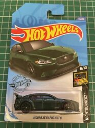 Hot Wheels Jaguar Xe Sv Project 8 Green Nightburnerz Number 171 New And Unopened