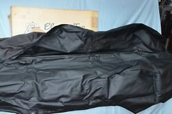 Nos 1963-67 Vw Standard Convertible Top Black Vinyl Volkswagen Bug Vw620