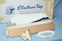 Nos 1957-58 Dodge Plymouth Convertible Top And Rear Curtain Window White Vinyl