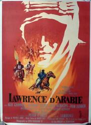 Lawrence Of Arabia - Lean / Oand039toole / Guiness - Style B Original Movie Poster