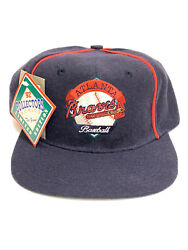 Atlanta Braves Baseball Cap Hat 1992 Collectors Series One Size Fits All Strap